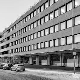 Dreggen by Atle Bogen - Buildings & Architecture Office Buildings & Hotels ( bergen, buildings, architecture, city street, norway )