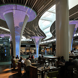 CAP 3000 by Victor Eliu - Buildings & Architecture Other Interior ( modern, interior, nizza, nice, france, architecture, mall )