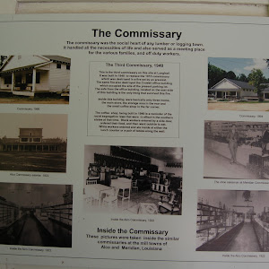 The commissary was the social heart of any lumber or logging town. It handled all the necessities of life and also served as a meeting place for the various families, and off duty workers.The Third ...