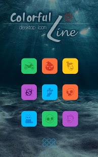 Colorful Icons Pack & Theme- screenshot thumbnail