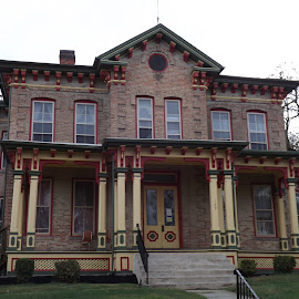 Victorian home by Dale Moore - Buildings & Architecture Architectural Detail ( home, victorian, pennsylvania, historic district, historical, homes, historic )