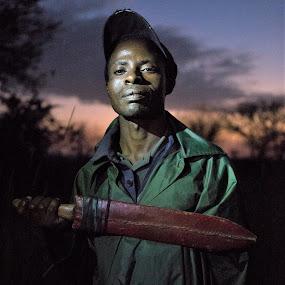 Guard by VAM Photography - People Portraits of Men ( serengeti, travel, tanzania, culture, man,  )