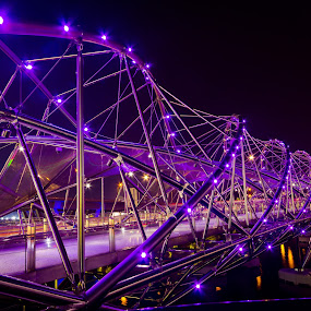 Helix Bridge Super structures by Lye Danny - Buildings & Architecture Bridges & Suspended Structures ( pwcbridges )