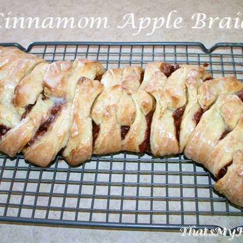 Cinnamon Apple Braid