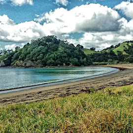 Helena Bay by Makereta Brown - Landscapes Travel ( northland nz, helena bay, tutukaka coast, seaside community, new zealand beaches, roadtrip, relax, tranquil, relaxing, tranquility )
