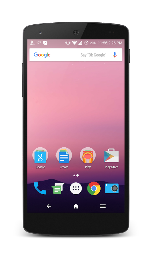HoloCon - Android N Style CM13 Screenshot
