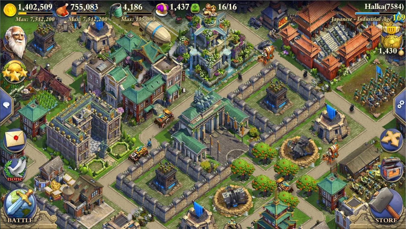 DomiNations Asia Screenshot 5