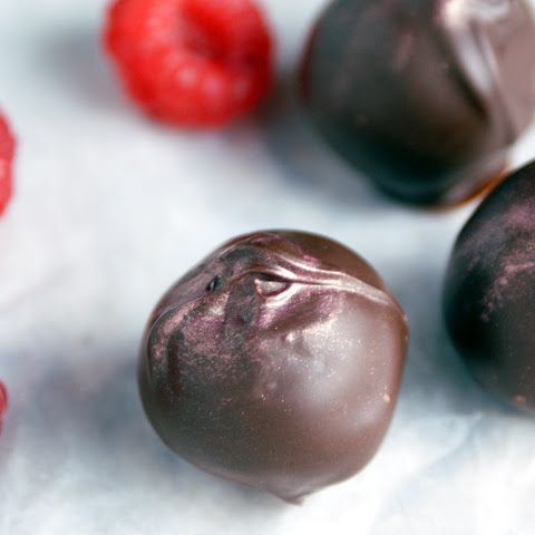 Chambord Dark Chocolate Truffles