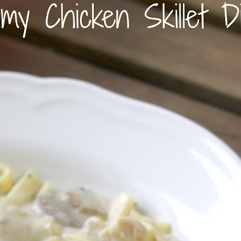 Creamy Chicken Skillet Dinner