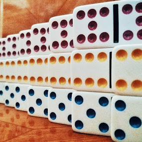 5,6,7 by Erl de Jose - Artistic Objects Other Objects ( abstract, patterns, board game, dominoes, objects )