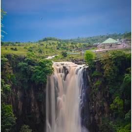 waterfall by Vijay Richhiya - Nature Up Close Water