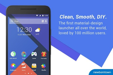 Free Download Solo Launcher-Clean,Smooth,DIY APK for Samsung