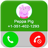 Fake call From Pepa Pig APK for Bluestacks