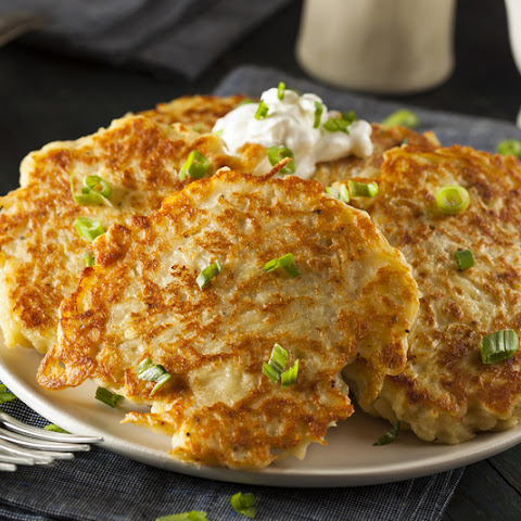 These Onion, Cheddar & Bacon Potato Cakes Are Where It's At!