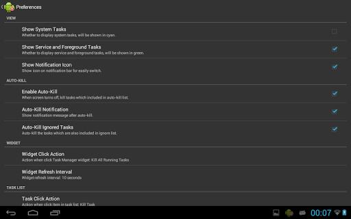 Task Manager (Task Killer) screenshot 8