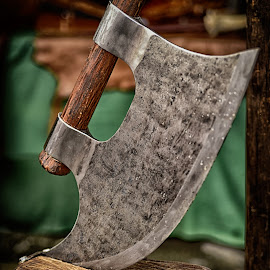 Battle Axe by Marco Bertamé - Artistic Objects Other Objects