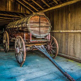 Water Wagon by P Murphy - Artistic Objects Antiques (  )