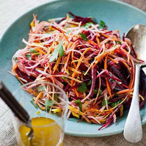 Beet, Carrot & Apple Salad