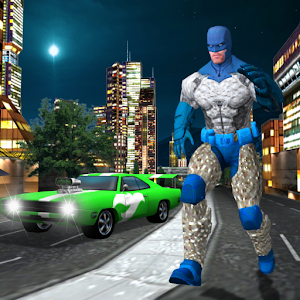 Super Flying Man Sim 3D Super City Hero Adventure Icon