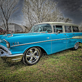 Chevy Wagon by Ron Meyers - Transportation Automobiles ( sx60 )