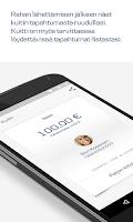 Screenshot of MobilePay FI