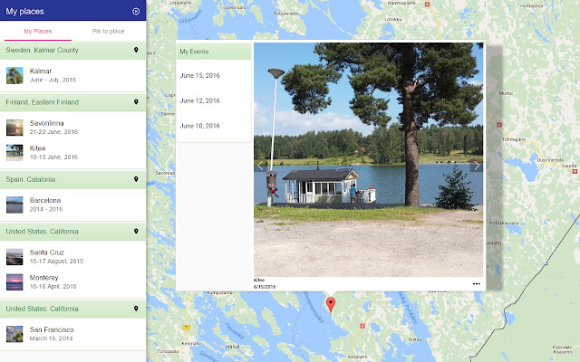 espoo kartta google Google Photos on map: browse, pin, PDF   Chrome Web Store espoo kartta google