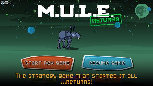 MULE Returns - screenshot