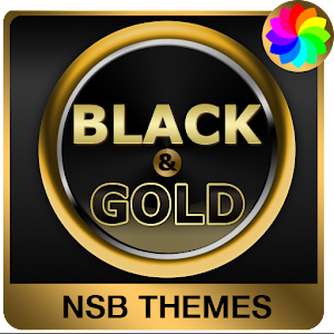 Black & Gold Theme for Xperia