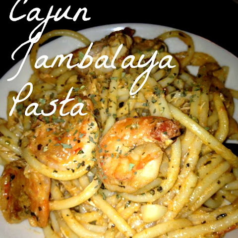 [In The Kitchen] Cajun Jambalaya Pasta With Shrimp, Chicken, And Sausage