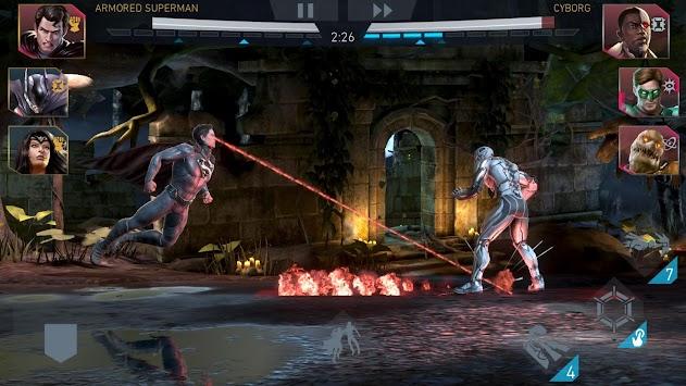 Injustice 2 apk screenshot