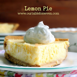 Lemon Pie With Condensed Milk Recipes