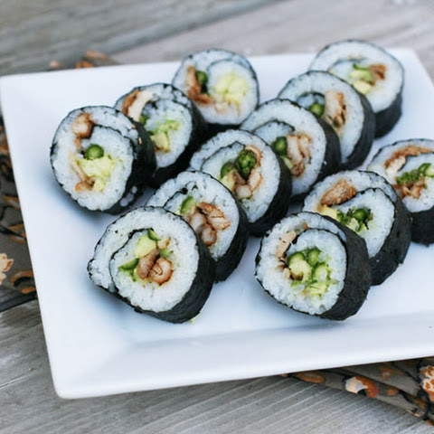 How To Make Teriyaki Chicken Sushi Rolls At Home