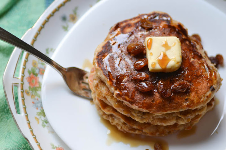 Joy's Oatmeal Cookie Pancakes {Joy the Baker Cookbook}