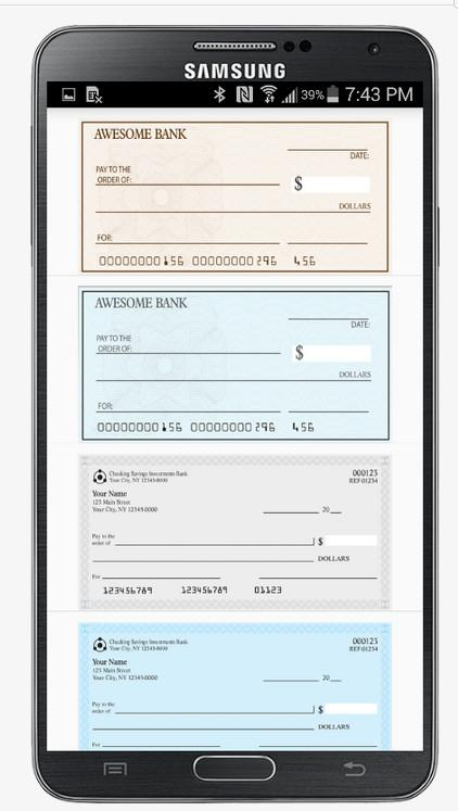 Fake Bank Check/Cheque Pro Screenshot 13