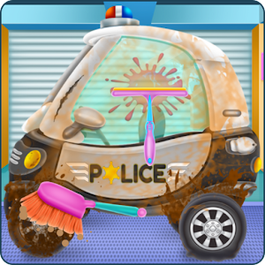 Download Baby Police Car Wash for PC