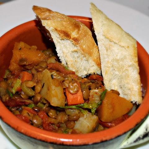 Root Vegetable and Lentil Goulash - Hungarian Stew