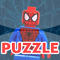 Puzzles Lego Spider Man APK for Bluestacks