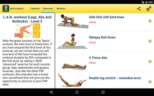 Butt Workout - screenshot