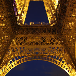 Eiffel Tower. by Pedro Silva - Buildings & Architecture Statues & Monuments