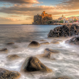 The Castle by Maurizio Santonocito - Landscapes Waterscapes ( lee, nikon d750, seascape, landscape )