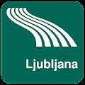 Android aplikacija Ljubljana Map offline na Android Srbija