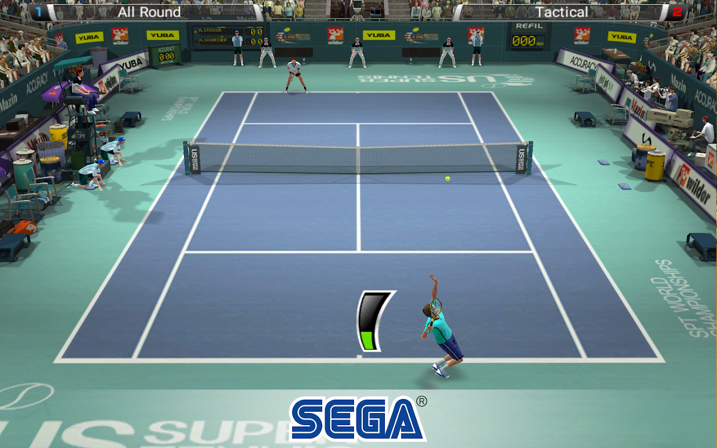 Virtua Tennis Challenge Screenshot 11