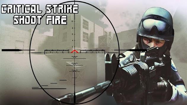 Critical Strike Shoot Fire apk screenshot