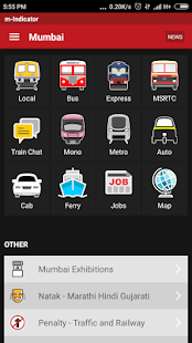 m-Indicator- Mumbai - Live Train Position for pc