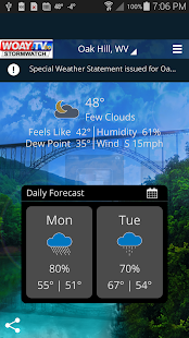 StormWatch screenshot for Android