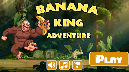 Banana King Adventure - screenshot