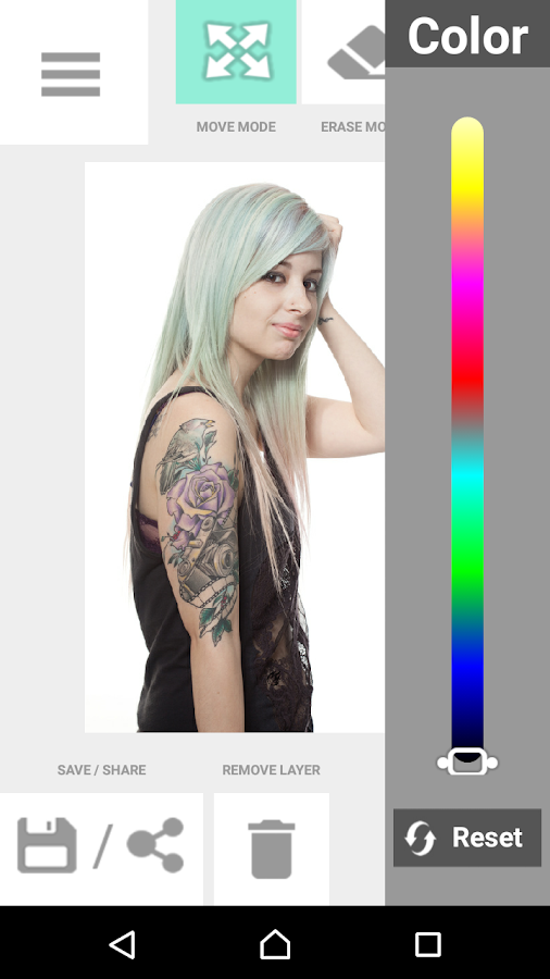 Tattoo my Photo 2.0 Screenshot 14