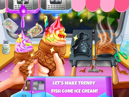 Ice Cream Master: Free Food Making Cooking Games