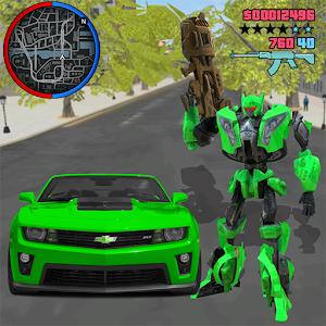 Robot War Car Transform: Crime City Robot Games For PC / Windows 7/8/10 / Mac – Free Download