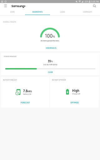 Samsung+ screenshot 9